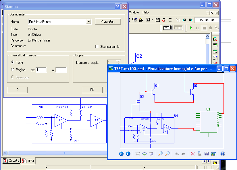 EmfPrinter is a virtual printer driver, which allows you to create EMF easily